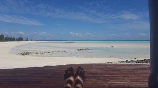 Quirimbas Archipelago, Moçambique: view from the pool deck