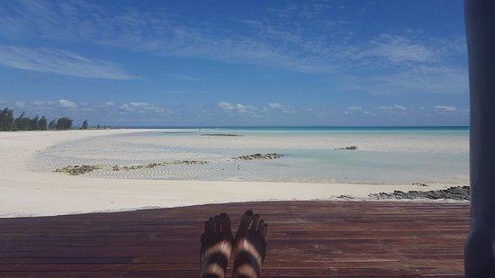 Quirimbas Archipelago, โมซัมบิก: view from the pool deck