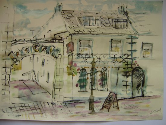 The Malton Hotel: This is a picture of a restaurant in clare