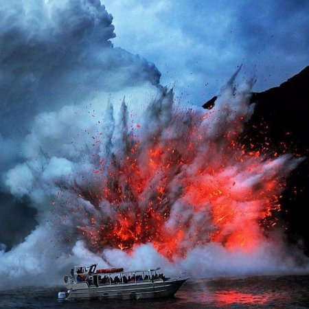 Lava Ocean Tours Inc : Sunrise Lava Tour on the Lavaone