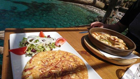 Ca's Patro March: Tortille sehr lecker, aber noch besser hier ist Fisch!