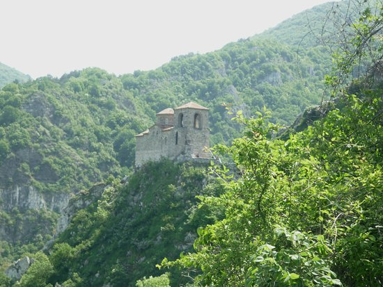 The church of the fortress Asenovgrad