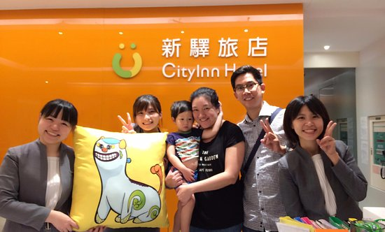CityInn Hotel - Taipei Station Branch III: nice staff with very good service mind.