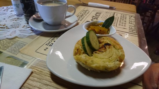 Calvinia, South Africa: Chicken pie