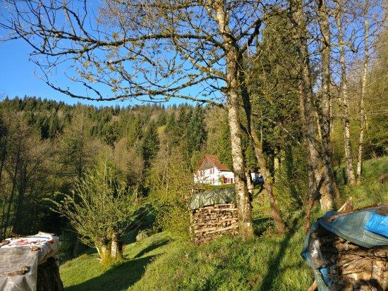 Cornimont, Frankrike: Prachtige ligging