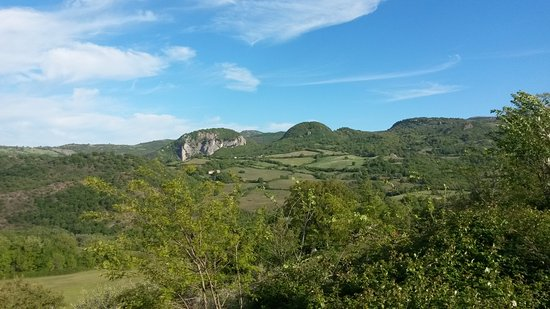Roccalbegna, Italy: panorama