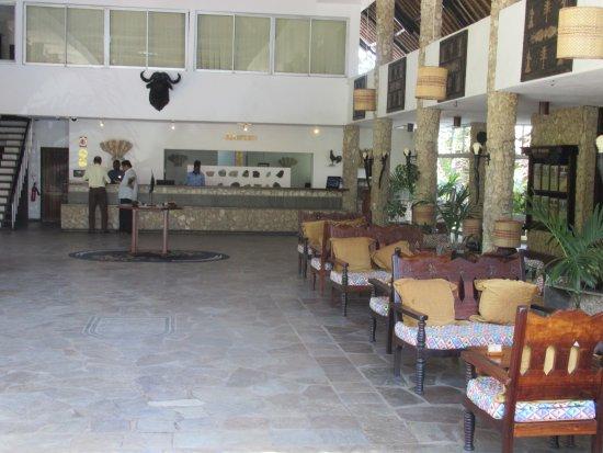 Severin Sea Lodge: Reception Area