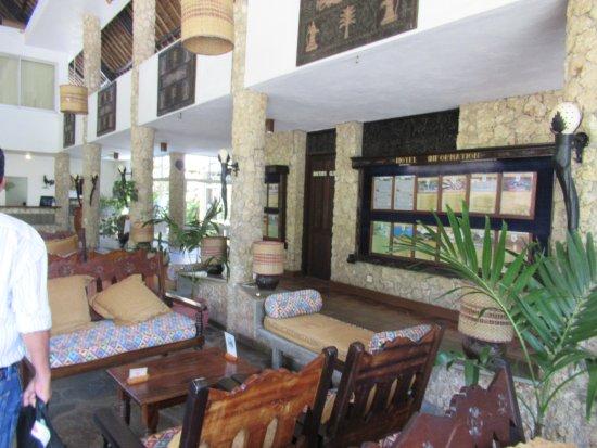 Severin Sea Lodge: Reception lobby