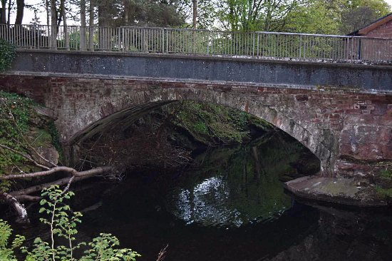 Calder Bridge, UK: Bat roost.