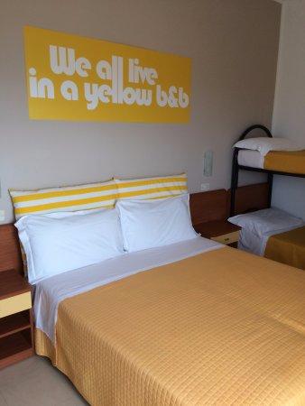 Hotel Carnaby: la camera 4 posti letto