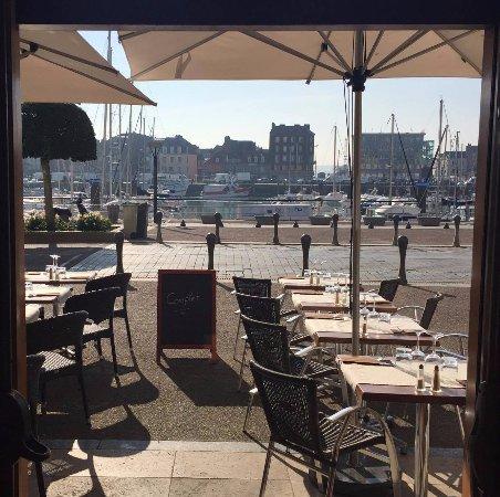 Le new haven dieppe restaurant reviews phone number - Restaurant seine port ...