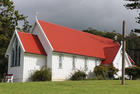 Kerikeri, New Zealand: Charming weatherboard exterior