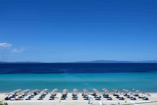 Ormos Panagias, Greece: Loft Sea View/view from private terrace