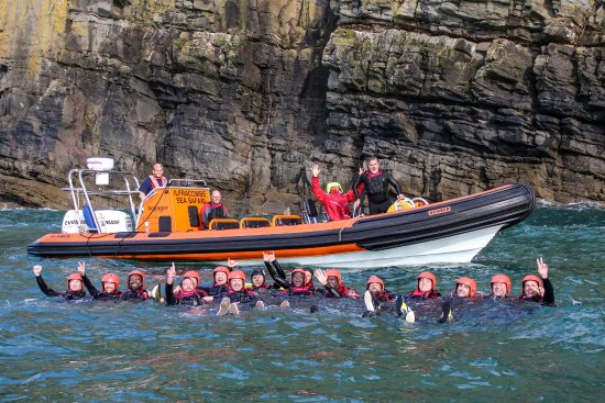 Lee, UK: The new Xtreme Sea Safaris for 2017 are a great way to see the North Devon coast.