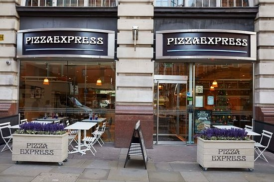 Pizza Express Manchester Menu Prices Restaurant
