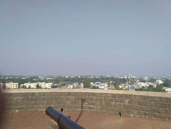 Uppali Buruz : City view from the watch tower - Uppali Burz aka Ali Burz Gun