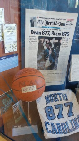 The Carolina Basketball Museum: The Legendary Dean Smith Surpassing Rupp for Wins