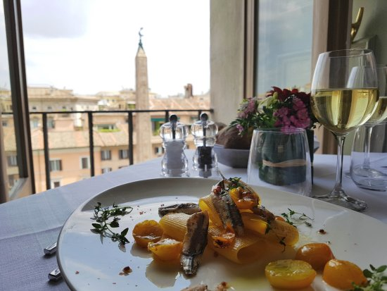 Lunch Picture Of Terrazza Borromini Rome Tripadvisor