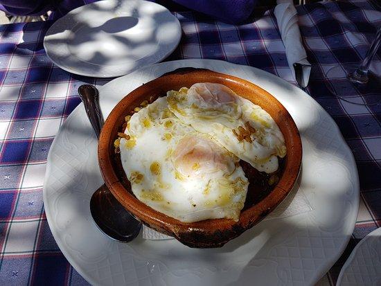 Capileira, Ισπανία: Habas con jamón