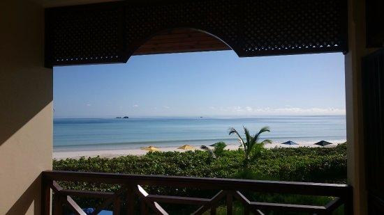 Acajou Beach Resort: vista dalla camera fronte oceano