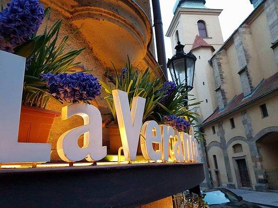 La Veranda: Fra restauranten...
