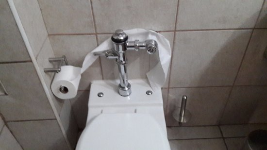 Vereeniging, South Africa: Toilet roll holder