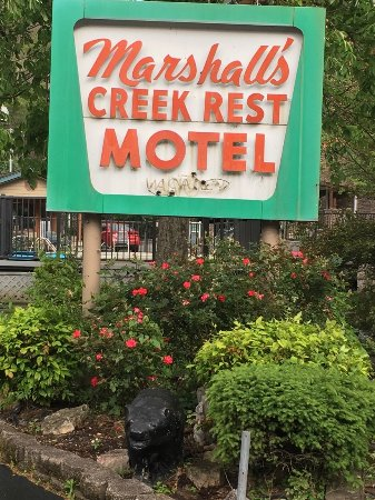 Obraz Marshall's Creek Rest Motel