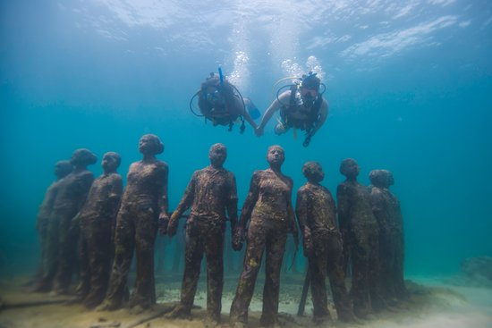 Grenada's Underwater Sculpture Park is Free to Wonder