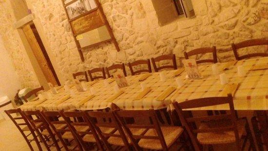 Мартано, Италия: Saletta interna pronta per intrattenimento, compleanni!