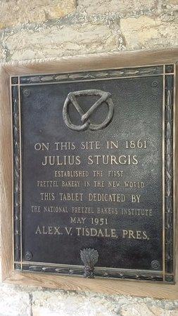Lititz, PA: plaque