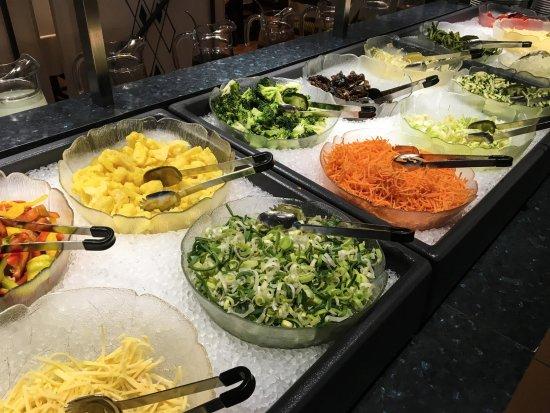 Liebefeld, Suíça: Gemüse Buffet