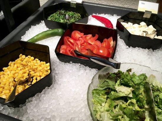 Liebefeld, Suíça: Salatbuffet