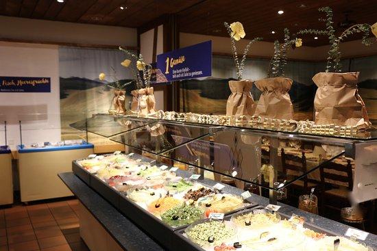 Liebefeld, Ελβετία: Buffets