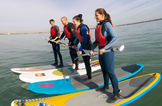 Calshot, UK: Learn to Paddleboard with us