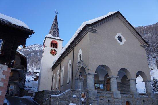 Winter time in Randa - © Zermatt Tourismus