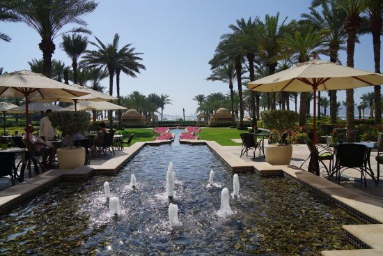 Residence & Spa at One&Only Royal Mirage Dubai: Breakfast Area Outdoor View
