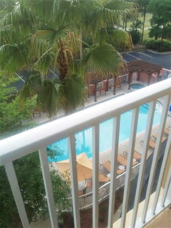 Courtyard by Marriott Sandestin at Grand Boulevard: View from our balcony.