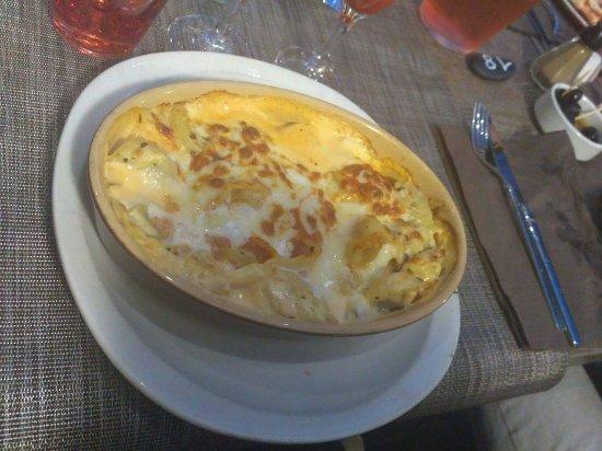 Sannois, Frankrijk: Lasagne