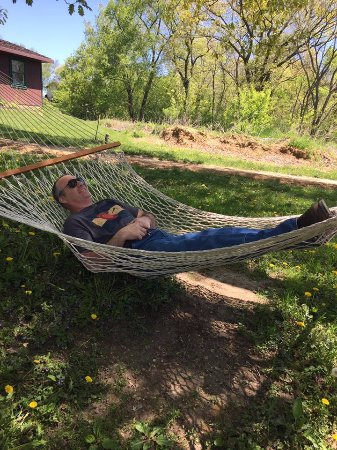 Dubuque, IA: Chillin' before the zipping!