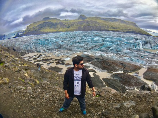 Hornafjorour, İzlanda: Sveitarfélagið Hornafjörður glacier