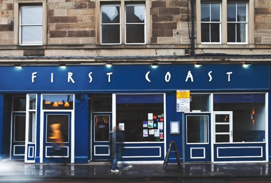 First Coast: Front of the restaurant
