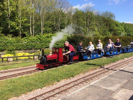 Ruddington, UK: Miniature model railway