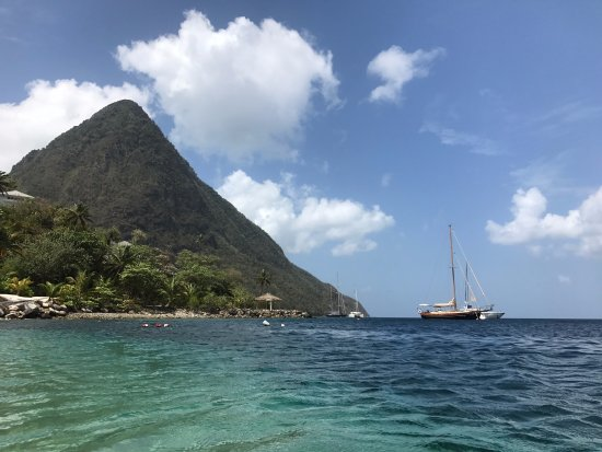 Paradise and Perfection between the Pitons - Don't think twice about anywhere else!
