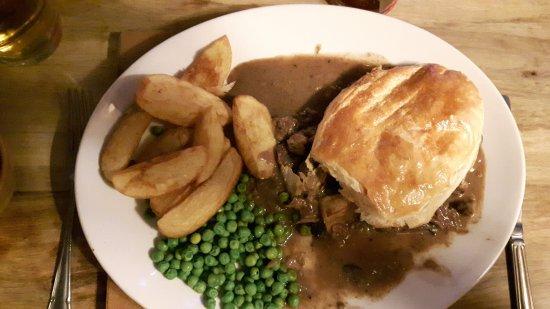Oswestry, UK: Stek and kidney pie lovely