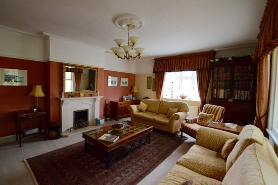 Budleigh Salterton, UK: Guest lounge.