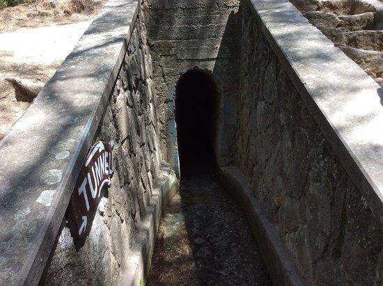 Επτά Πηγές: Вход в тоннель