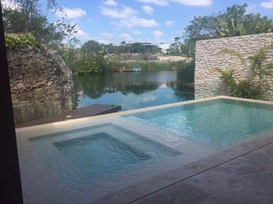 Rosewood Mayakoba: House Pool. Always ready to go!