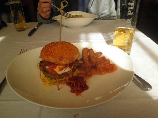 Restaurant Sitzwohl: Sanduíche vegetariano