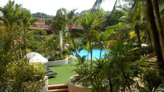 Krabi Thai Village Resort: Blick vom Zimmerbalkon