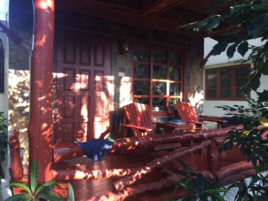 Neptune's Villa: l'ingresso del nostro bungalow